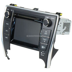 For 2015 Toyota Camry Oem Gps Navigation Unit W/ Face Code 100367