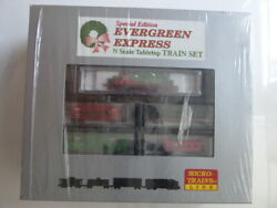 Micro-trains Special Edition Evergreen Express Tabletop Set N Scale Track Andpower
