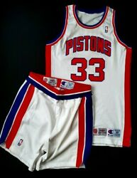 Grant Hill Detroit Pistons Rookie Game Worn Jersey Shorts