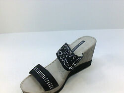 Good Choice Womens P8rh Wedged Sandals Multicolor Size 8.0