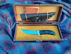 Buck Kalinga Knife Inverted Tang Stamp First Production 1969-70 With Original...