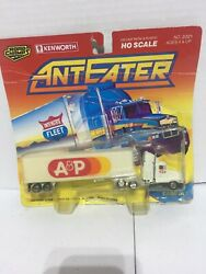Road Champs - Anteater - Vintage 1990 A And P Kenworth Semi Truck