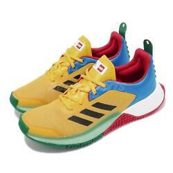 Adidas Lego Sport J Multi Yellow Blue Red Junior Kids Running Shoes Fy8439