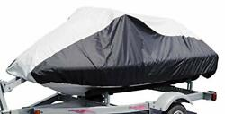 Budge Deluxe Jet Ski Cover Fits Jet Skis 109 To 120 Long X 36.75 Wide Blac...