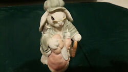 The Patchville Bunnies Collection Gandpa Thaddeus And Zachary Ba-521. Used. 1993