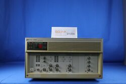 Agilent/hp 4142b Source Meter Modular Dc Source/ Monitor With A Lot Of Modules