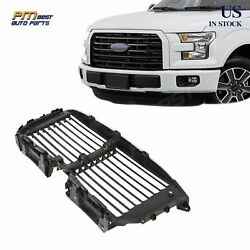 Front Upper Radiator Grille Airflow Control Shutter For 2015-2017 Ford F-150