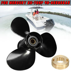 11 3/8 X 12 25-70hp Marine Boat Outboard Motor Propeller For Mercury And