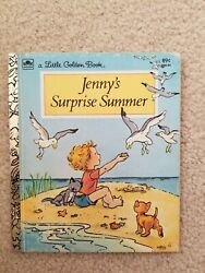 1981jennyand039s Surprise Summer Eugenie Golden Book First Edition No Writing No Name