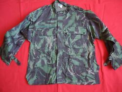 Portugal Military Africa War Paratrooper Parachute Camouflage Jacket Original
