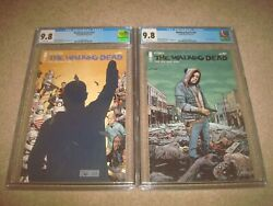 The Walking Dead 191 192 Cgc 9.8 White Pages 1st Print Image Comics Lot 2019
