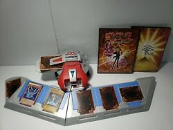 Yugioh Duel Disk Battle City 1996 Rare Works Comes With Cards And Folders