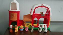 Fisher Price Little People Interactive Toy Farm Barn Set
