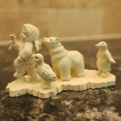 Dept 56 Snowbabies Miniatures Join The Parade Painted Pewter 76457 1992