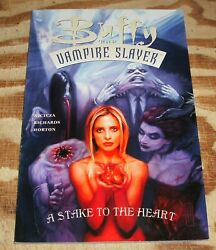 Trade Paperback Buffy The Vampire Slayer A Stake To The Heart Nm/m 9.8