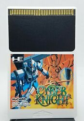 Cyber Knight Nec He System Hucard Loose Tested Working Pc Engine