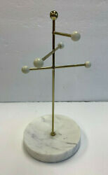 Pottery Barn Teen Marble And Gold Necklace Holder