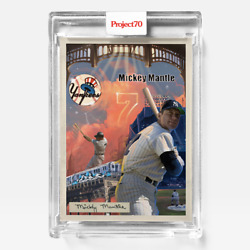 Topps Project 70 Card 260 - 1954 Mickey Mantle By Ces -presale-