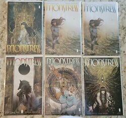 Monstress Image Comic Book Lot 1 2 3 4 Nm 2nd 3rd Print Included Cgc It