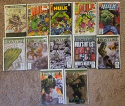 The Incredible Hulk 175, 181, And 200 Comic Books With Others