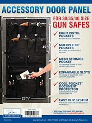 Liberty Safe Gun Safe Door Panel Organizer For Holding Pistols And Important ...