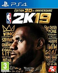 Nba 2k19 - 20th Anniversary Edition - Ps4 Free Ship W/tracking New From Japan