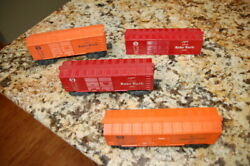 Lionel Model Train Box Cars 3 Baby Ruth And Shredded Wheat