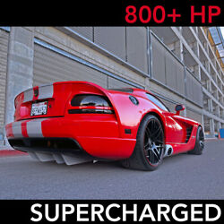 2006 Dodge Viper HARDTOP PAXTON SUPERCHARGED 14K MILES 800HP $89950.00