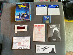 Vintage Pc 1989 Lucasfilm Games Maniac Mansion, 100 In Excellent Condition.vga