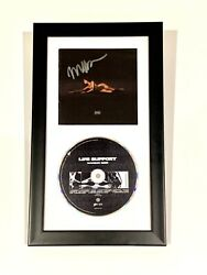 Madison Beer Signed 'life Support' Cd Cover Framed Album 2021 Autographed Hand