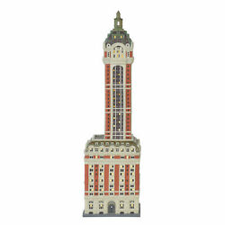 Department 56 Christmas In The City Singer Building 6000569 New In Box Retired