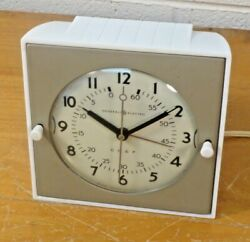 Vintage General Electric Chef's Kitchen Electric Wall Clock Model 2h18 Timer