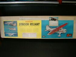 New Stinson Reliant Vintage Rc Model Airplane Kit By Sterling Models Nc-18713