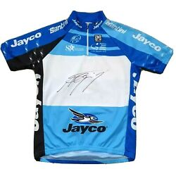 Signed Andre Greipel Sms Santini Small Cycling Jersey Tour Down Under 2010 Shirt