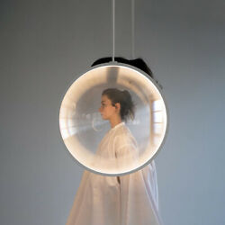Nordic Convex Lens Led Pendant Lights Modern Chandeliers Hanging Ceiling Lamps