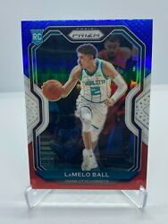 Lamelo Ball Rc 7 Card Lot /942 Red White Blue Prizm/holo Graded