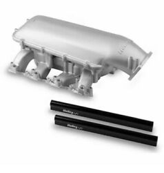 Holley 300-128 Ls Modular Mid-rise Intake Intake Base For Ls3/l92 Rectangle Port