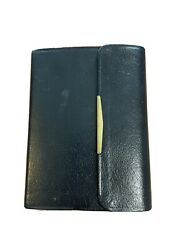 Holy Bible King James Version Nelson Genuine Black Bonded Leather Snap Cover