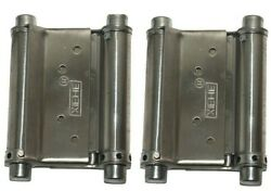 Saloon Door Hinges - Double Action Spring Cafe Gate Swing Free   3 Inch