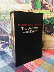 Like New Stephen King Drawing Of The Three 2nd Edition + Slipcase Grant Fine