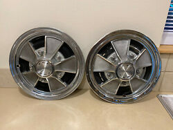 Ford Vintage Mag Style Hub Cap 15 Wheel Cover 1966 1967 1968 1969 1970 Hubcaps