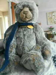 Bobsleigh Charlie Bear From 2013 Tags On