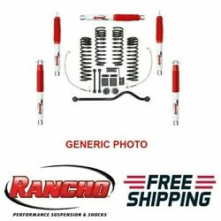 Rancho Lift Kit 3-3.5 Front And 2.5 Rear Sport Suspension For Wrangler