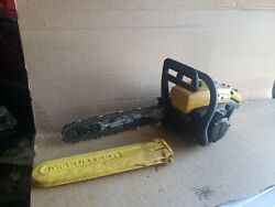Mcculloch Pro Mac 10-10s Chainsaw For Parts Or Repair