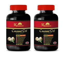 Coconut Oil For Hair Growth - Coconut Oil 3000mg - Fat Burner Pre Workout - 2b