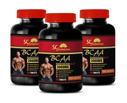 Amino Acid Supplement - Top Grade Bcaa 3000mg - Pre And Post Workout 3b