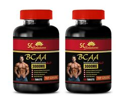 Muscle Growth And Recovery - Top Grade Bcaa 3000mg - Pre And Post Workout 2b