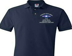 Little Rock Air Force Base Arkansas Usaf Embroidered Polo Shirt/sweat/jacket.