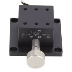 Xaxes Sliding Stage Dovetail Groove Manual Trimming Platform Slide Table 40x40mm