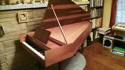 Harpsichord Zuckerman With 3 Sets Of Strings And 61 Keys.